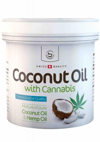 Herbamedicus Kokosový olej s konopím 250 g