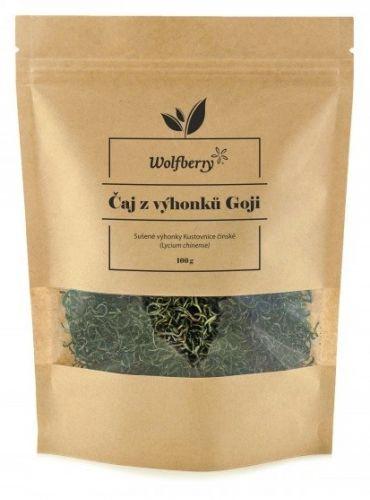 Wolfberry Čaj z výhonků GOJI 100 g cena od 155 Kč