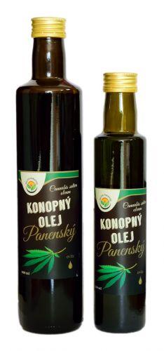 Salvia Paradise Konopný olej panenský 250 ml
