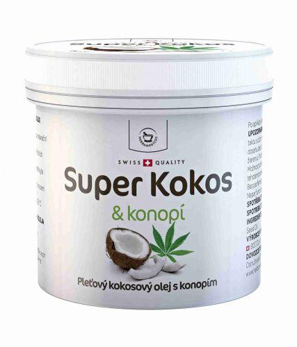 Herbamedicus Super Kokos & konopí pleťový olej 150 ml