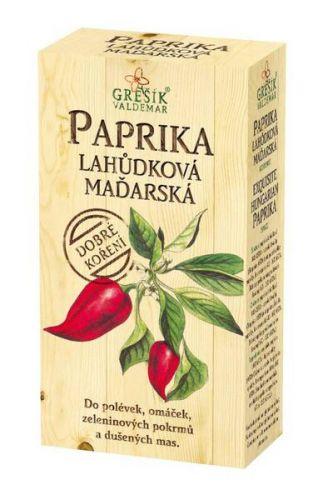 Grešík Paprika lahůdková maďarská mletá 100 g cena od 41 Kč