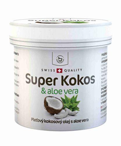 Herbamedicus Super Kokos & aloe vera - pleťový olej 150 ml