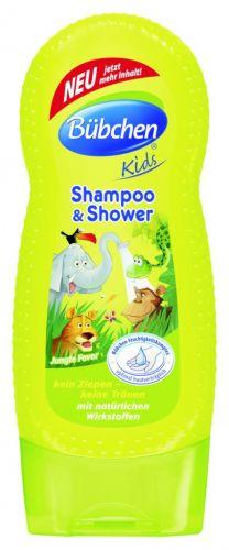 Bübchen Kids šampon a sprchový gel - džungle 230 ml