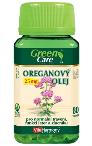 VitaHarmony Oreganový olej 25 mg 80 tablet cena od 309 Kč