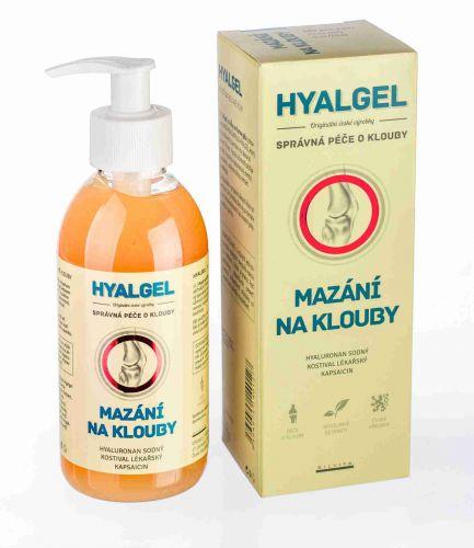 Silvita Hyalgel Mazání na klouby 250 ml