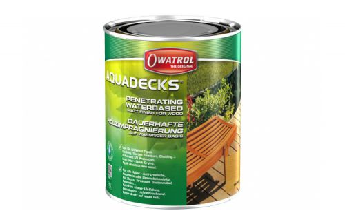OWATROL AQUADECKS GRAPHITE GREY 1 L