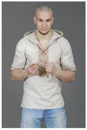 Vishivanocka vyšívaná košile s kapucí