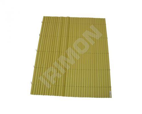 ARTLEAF BAMBOO MAT žlutá bambusová plotová rohož 3x1 m