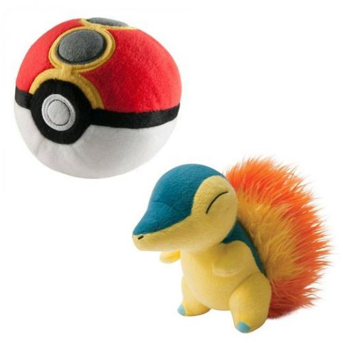 Tomy Cyndaquil s Repeat Poke Ball 15 cm