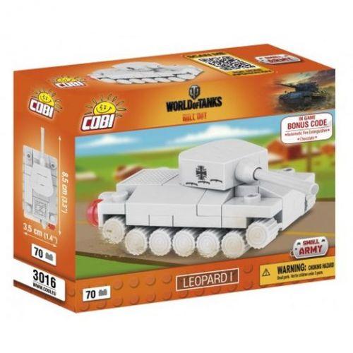 COBI 3016 WORLD of TANKS Nano Tank Leopard 1 70 k cena od 72 Kč