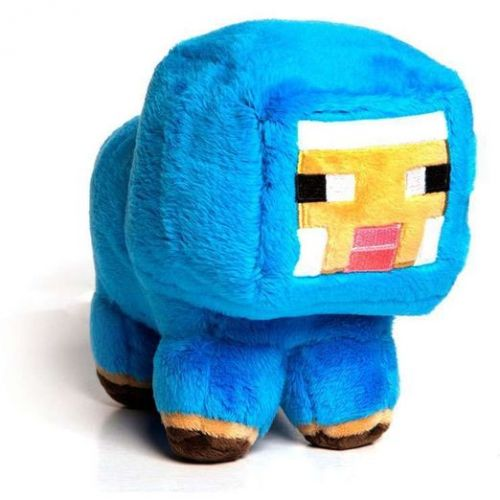 Jinx Minecraft Baby Blue Sheep Plyš 3