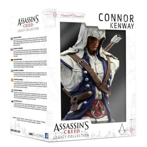 Ubi Soft Assassin's Creed Legacy Collection busta Connor 19 cm