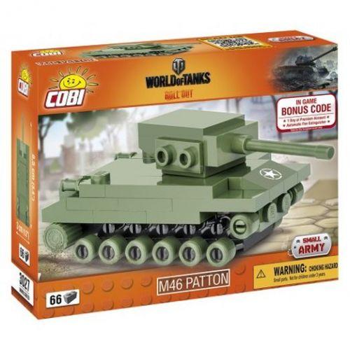 Cobi 3027 World of Tanks Nano Tank M46 Patton 66 k cena od 99 Kč