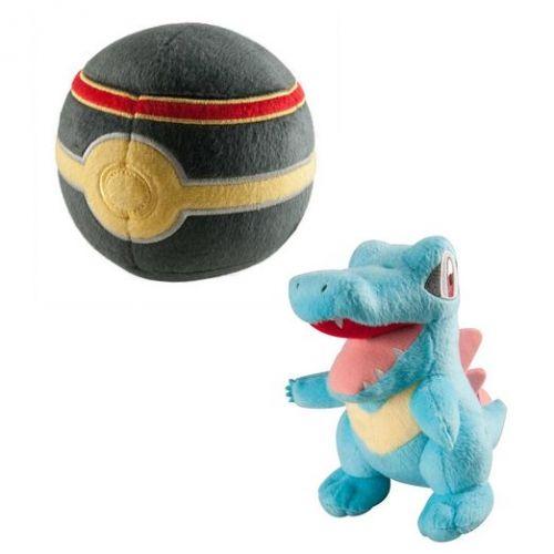 Tomy Totodile s Luxury Poke Ball 15 cm