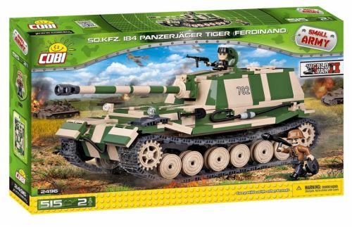 COBI Small Army Stíhač tanků Panzerjäger Tiger SdKfz.184 IIWW 2496
