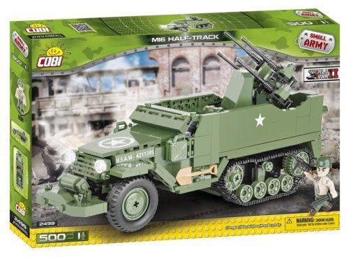 COBI Small Army Kolopásové víceúčelové vozidlo M16 II WW 2499 cena od 669 Kč