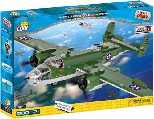 COBI Small Army Letadlo B-25 Mitchell II WW 5541
