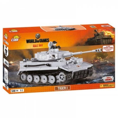 COBI World of Tanks Tank TIGER I 3000