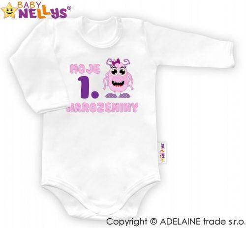 Baby Nellys Moje 1. narozeniny body