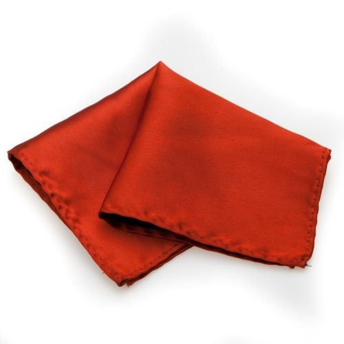 SmartMen Česká republika Hedvábný kapesníček do saka a obleku oranžový