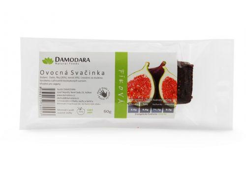 Damodara Tyčinka Ovocná svačinka fíková 60 g