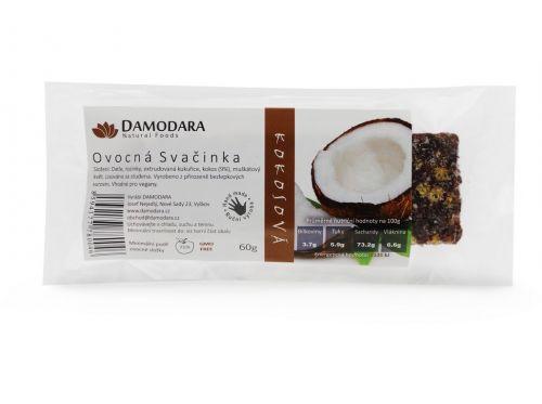 Damodara Tyčinka Ovocná svačinka kokosová 60 g
