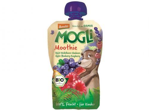 MOGLI Bio Moothie jablko borůvka malina bez cukru 100 g