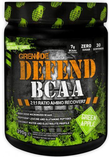 Grenade Defend BCAA zelené jablko 390 g