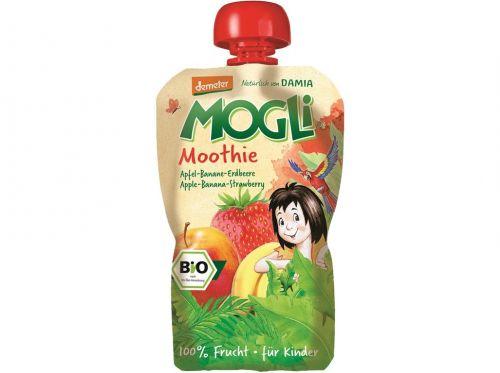 MOGLI Bio Moothie jablko banán jahoda bez cukru 100 g cena od 40 Kč