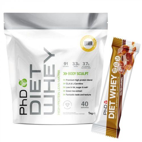 PhD Nutrition Diet Whey vanilka 1 kg
