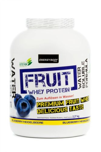 Energy Body FRUIT Whey Protein pomeranč 2,27kg