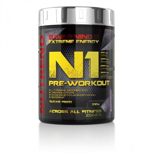 Nutrend N1 Pre-Workout červený pomeranč 510 g
