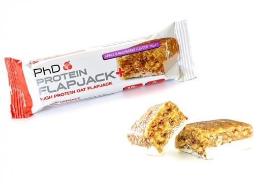 PhD Nutrition Tyčinka FlapJack jablko-malina 75 g