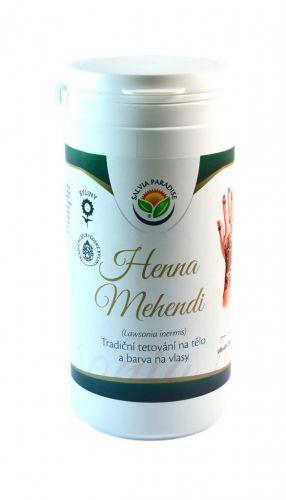 Salvia Paradise Henna Mehendi tradiční tetování na tělo a barva na vlasy 150 g