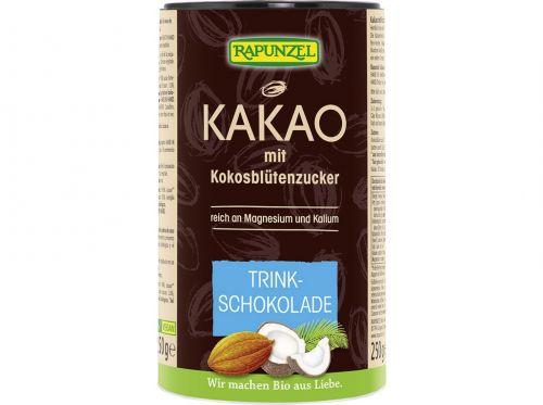 RAPUNZEL Bio kakao s kokosovým cukrem 250 g cena od 219 Kč