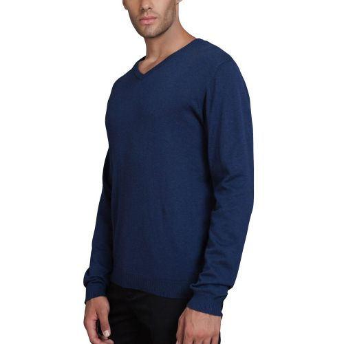 The Fresh Brand Paris Modrý pulovr do V