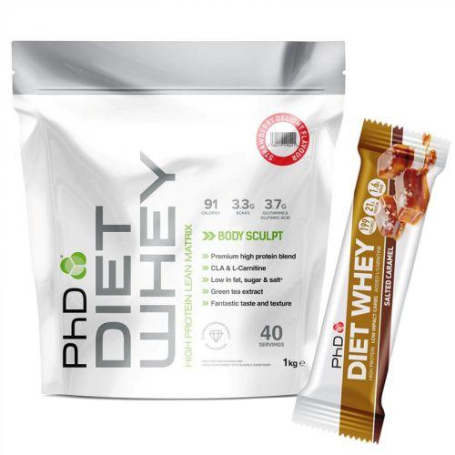 PhD Nutrition Diet Whey jahoda 1 kg