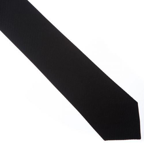 SmartMen Česká republika černá kravata slim