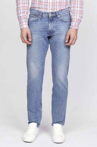GANT O1. TAPERED WARP STRETCH kalhoty