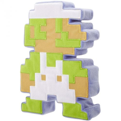 Nintendo Luigi 8bit plyšový polštář