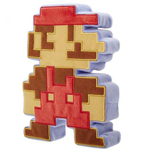 Nintendo Mario 8bit plyšový polštář