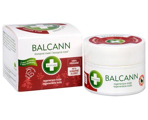 Annabis BIO Balcann Přírodní konopná mast 15 ml