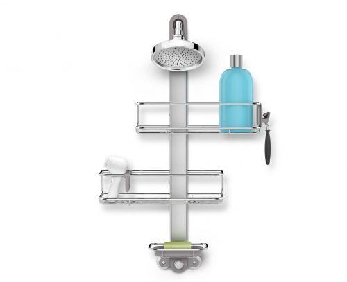 Simplehuman Caddy Nastavitelný set poliček a držáku do sprchy