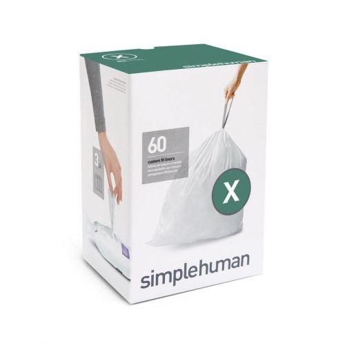 Simplehuman Sáčky do koše typ X 80 l