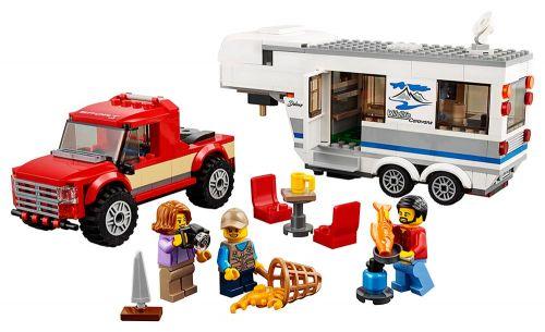 LEGO Pick-Up A Karavan cena od 595 Kč