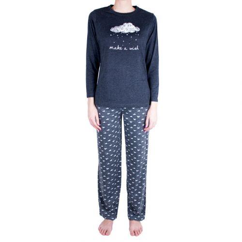 Molvy šedé pyžamo