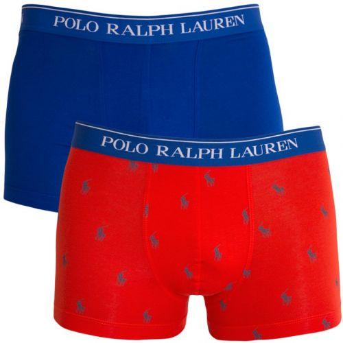 Ralph Lauren modro oranžové boxerky