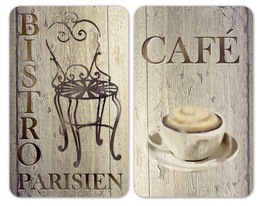 WENKO OCHRANNÉ SKLENĚNÉ DESKY NA SPORÁK CAFE BISTRO