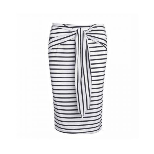 AWEI Pruhovaná elastická sukně