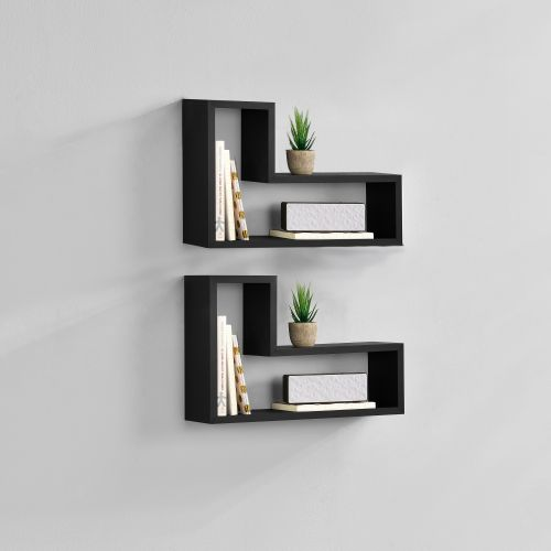 [en.casa]® Designová police na zeď